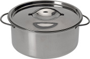 500ml Stainless Steel Mini Casserole Dishes with lids Oven Safe, Soup Bowls