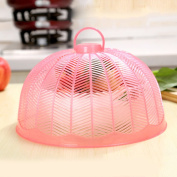 Insulation food cover Round kitchen food cover anti-flies cover vegetable cover plastic food fly cover creative cute cover Food Domes