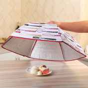 Insulation food cover Foldable insulation food cover round dish cover table cover foil food insulation cover cover dishes Food Domes