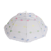 Insulation food cover Dots collapsible food cover 8 bone table cover food food cover umbrella Food Domes