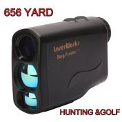 Hunting Rangefinder, Topseller Waterproof Golf Laser Range Finder Ranging/Speed/Height/Angle/Horizontal Distance/Fog Measure, Flagpole Lock,Scanning Test,Golf Slope Trajectory Correction