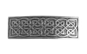 Oberon Design Large Celtic Hair Clip   Hand Crafted Metal Barrette With Imported French Clips