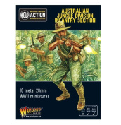 Warlord Games,Australian Jungle Division infantry section (Pacific), Bolt Action Wargaming Miniatures