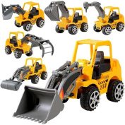good01 Kids Mini Car Truck Engineering Vehicle Excavator Model Educational Toy Gift