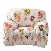 Fuloon Stretch Printed Sofa Slipcover Sofa Covers Chair Covers Seat Protectors Couch Covers Featuring Spandex Soft Form Fit Slip Resistant