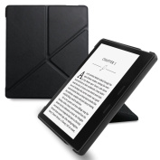 WALNEW Origami Case for 18cm Kindle Oasis (9th Generation - 2017 release) Standing Cover with Auto Wake Sleep Function
