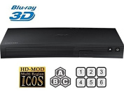 Samsung BD-J5500 Blu-ray Player Multiregion Blu-Ray 3D & DVD. Code Free Blu-ray Player for All Zone playback.