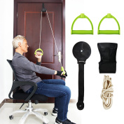REAQER Over Door Cervical Traction Kit Medical All-round Traction Set for Shoulder Elbow Wrist Back Rehabilitation Training Health Care Fitness Equipment Care Home