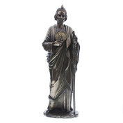 St Jude Thaddeus Resin with Faux Bronze Finish Statue