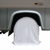 DMC RV WHEEL COVERS MODEL A 70cm . TO 70cm . DIAMETER