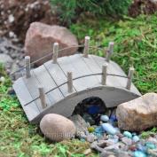 Midwest Design Imports, Inc Plank Bridge for Miniature Garden, Fairy Garden