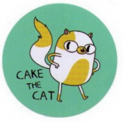 Adventure Time Cake The Cat Button AB4609
