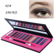 DRESS® 12 Colour Pearl Glitter Eye Shadow Powder Palette Naked Smoke Earth Matte Shimmer Eyeshadow Cosmetic Makeup FaRRES