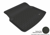3D MAXpider 2010-2016 MB E-Class (C207) Coupe All Weather Cargo Liner in Black with Carbon Fibre Look