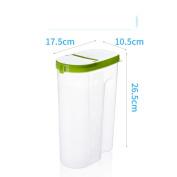 Airtight Grain Grains Storage box Kitchen Grains [storage jar] Storage tank Plastic Airtight Snack jar-C