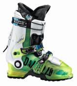 Dalbello Men's Sherpa T.I. IF Ski Boots / Green Fl.Transparent/White / Mondo Point 28.5