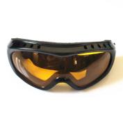 Hzjundasi Anti-Wind Outdoor Sports Climbing Walking Glasses Snowboard Ski Goggles Eyewear for Kids Children