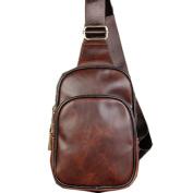 NUBEN Men Shoulder Bag Casual Sport Synthesis Cowhide Crossbody Bags