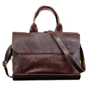 NUBEN Men Bag Shoulder Bags Briefcase Casual Synthesis Cowhide Tote