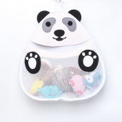 Taozi Baby Kids Bath Toy Organiser Panda Bathroom Tidy Mesh Bag