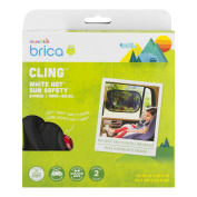 Brica Cling White Hot Sun Safety Shades, 1.0 CT