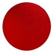 "8"" RED ~ ROUND CAKE DRUM BOARD ~ 13MM THICK"