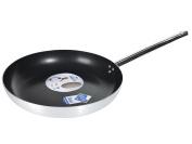 Pardini Vario Non-Stick Frying Pan with 1 Handle, Aluminium, 40 cm, Grey