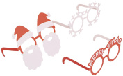 Party Glasses Christmas