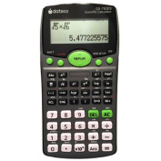 Datexx 2-Line Scientific Calculator with Natural Textbook Display