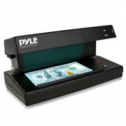 Pyle Counterfeit Bill Detector with UV/MG Detection