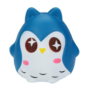 HKFV Amazing Creative Owl Toys Finger Soft Toys Stress Relief Cute Owl Toys Squeeze Jumbo Stress Reliever Soft Owl Doll Scented Slow Rising Toys Gifts