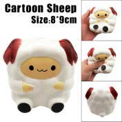 Squeeze Toys,Soft Toys, Decompression toys, Education Toy, TUDUZ Newest Funny Kawaii Cartoon Cute Sheep Squishy Slow Rising Cream Scented Decompression Toy Cure Gift