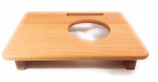 Trivet Eco-Friendly Solid Wood Solid Beech 28 x 21.5 cm Internal Diameter, 9,7 cm