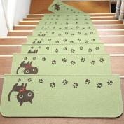 Step Basic Non-Slip Rubber Backing Mat SOMESUN Cat Skid-Resistant Carpet Stair Staircase Gripper