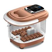 AMYMGLL Fully Automatic Heating Foot Bathtub Electric Wash Foot Home Self Massage Deep Barrel Bubble (Inner Barrel Depth