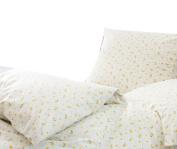Estella Fine Flannel Bedding Navis Gold, 100% Cotton, 135 x 200 cm + 80 x 80 cm