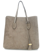 Coccinelle Celene Suede Tote olive-green