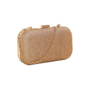 Casual Shoulder Bags, Fcostume Women Clutch Box Evening Party Glitter Chain Hand Bags Wallet