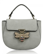 LeahWard Women's Bee Embellished Cross Body Bag Designer Tote Grab Bags Handbags For Her Party Holiday 0812