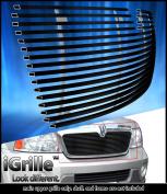 Fits 2003-2006 Lincoln Navigator Stainless Steel Black Billet Grille