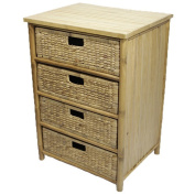 Heather Ann Creations Cabinet with 4 Drawers