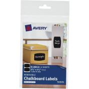 Avery Chalkboard Rectangle Label 2-Up, 4-Sheet