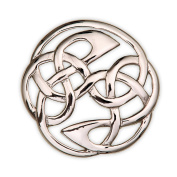 Lindisfarne Celtic Pewter Brooch - Made in Scotland by Art Pewter - B261