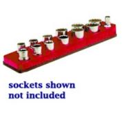 Mechanics Time Saver 713 3/8 in. Dr Magnetic Rocket Red Socket Holder 5.5-22mm
