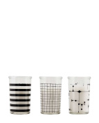 House Doctor Candle Set New Art One Size, black, One Size