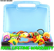 Life Made Better Baby Toy Storage Organiser. Keep Your Baby's Toys In This Colourful Box. Stores Baby Rattles, Baby Maracas, Developmental Toys and Baby Gifts.