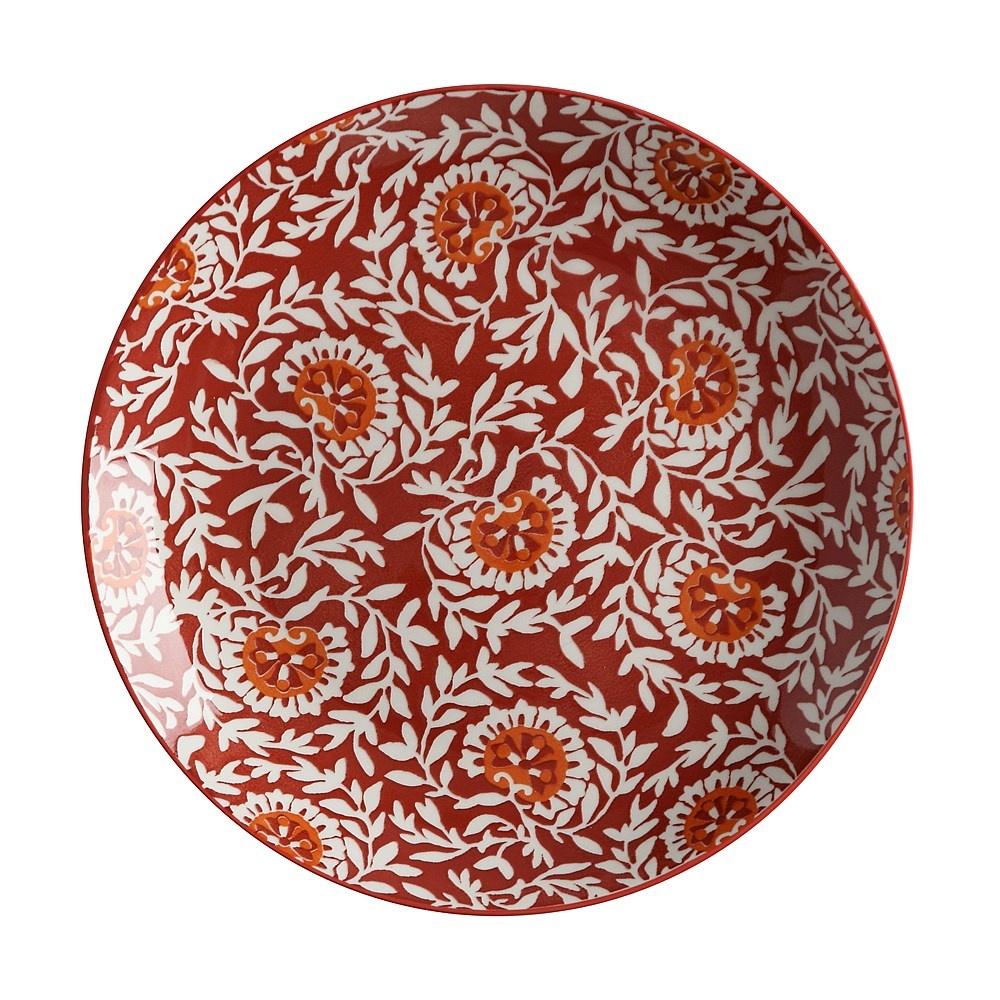 Pleasing Maxwell Williams Boho Damask Red Plate 27Cm Download Free Architecture Designs Intelgarnamadebymaigaardcom