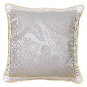 Garnier-Thiebaut, Cotton, Platinum Cushion Cover 50 x 50 cm