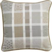 Garnier-Thiebaut Cotton Cushion Cover, Clay, 50 x 50 cm