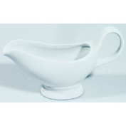 What 4922020 Porcelain Gravy Boat with Base – 200 ml